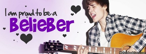 Justin Bieber wallpaper with an acoustic guitar, a guitarist, and a lute called Im proud to be a Belieber♥