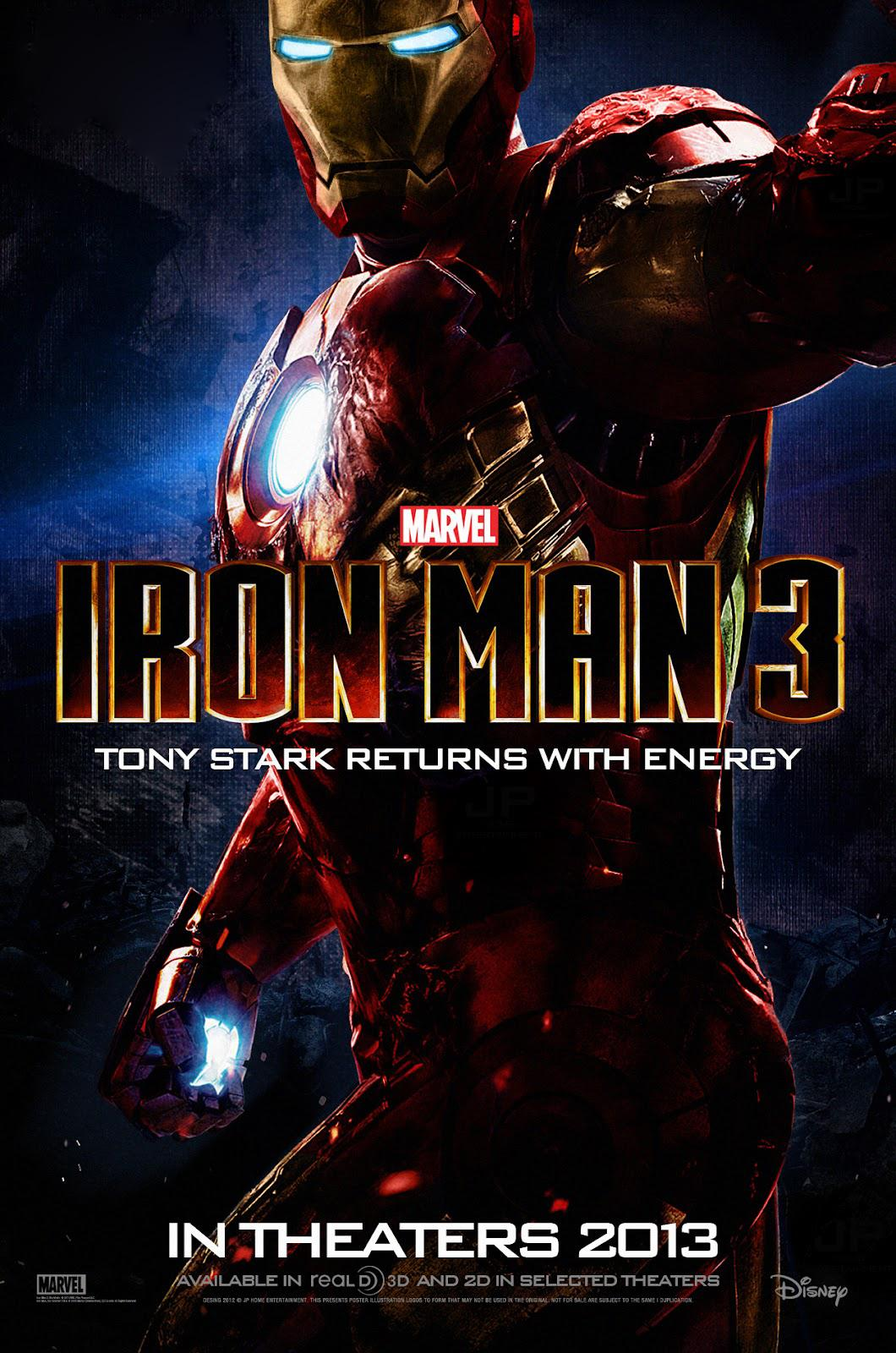 Iron Man 3 (2013)DVDRip XviD