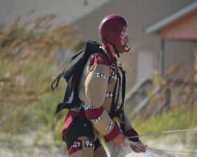 Iron man 3 on set