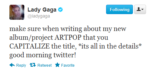 It's ARTPOP not Artpop - lady-gaga Photo