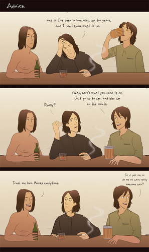 Jacob, Snape and Gale