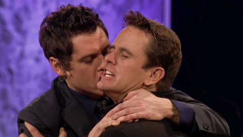Jeff Davis and Chip Esten