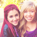Jennette &amp; Ariana  - icarly icon