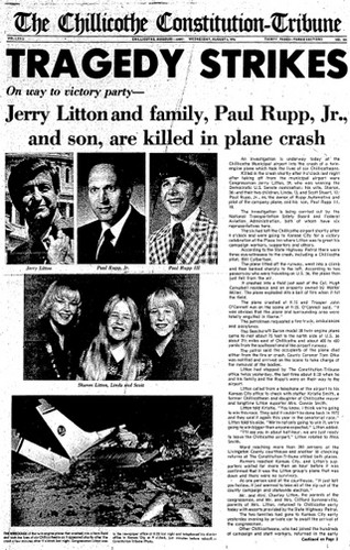 Jerry Litton and his family