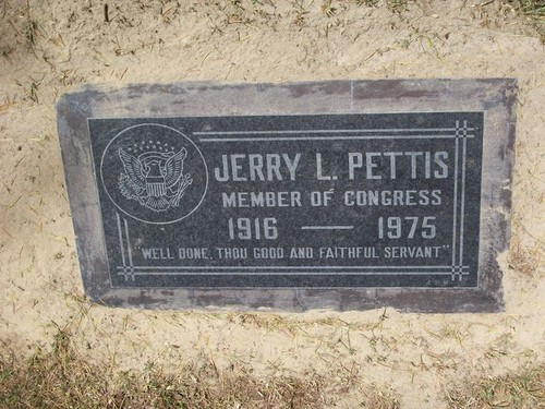 Jerry Lyle Pettis (July 18, 1916 in Phoenix, Arizona – February 14, 1975