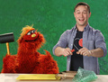 Joe in Sesame Street - joseph-gordon-levitt photo