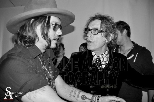 Johnny @ the Aerosmith کنسرٹ
