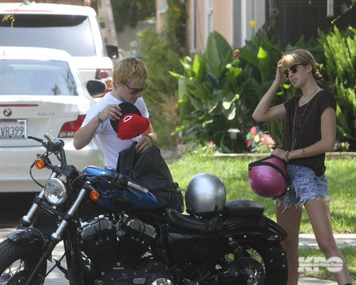 Josh & Lanchen driving to the film