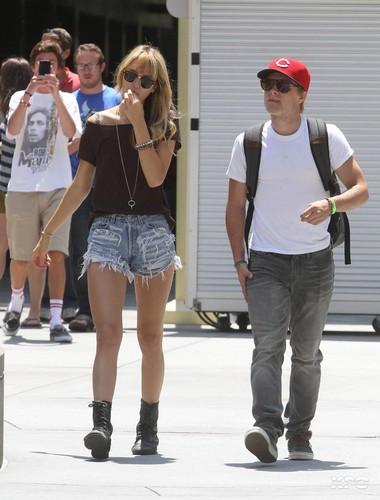 Josh & Lanchen leaving the film