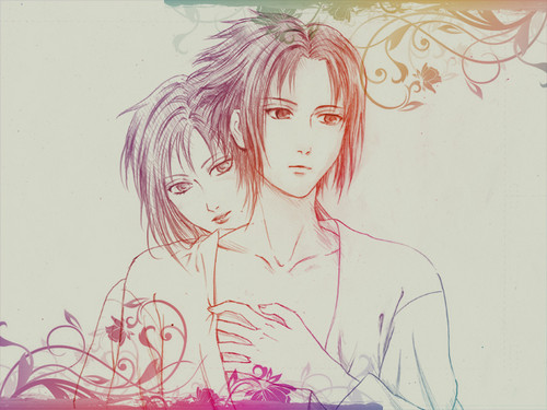 Karin and Sasuke