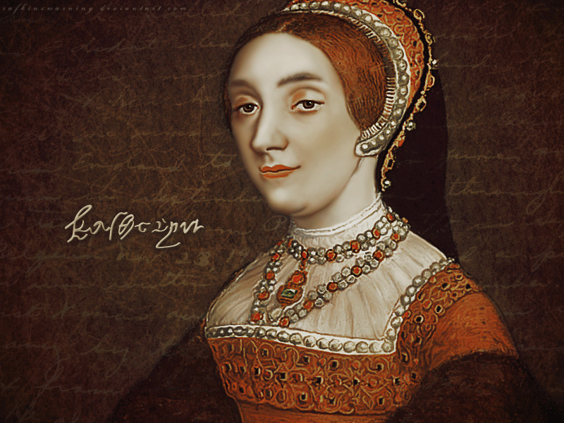 katherine howard the six wives of henry viii wallpaper