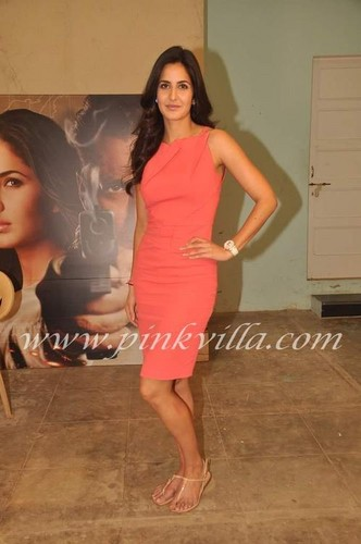 Katrina Kaif at Ek Tha Tiger Interviews