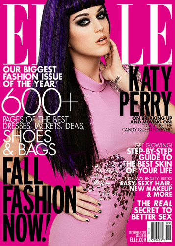 Katy Perry on ELLE's September 2012 issue