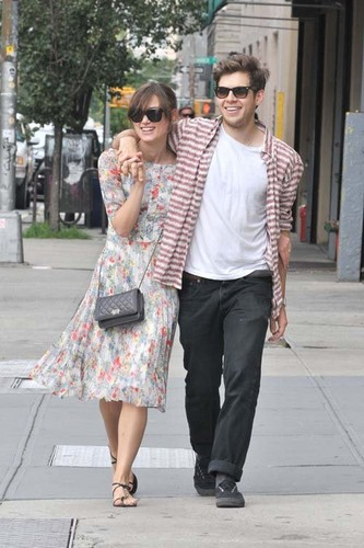 Keira & James taking a stroll around Soho in New York City (August 5)