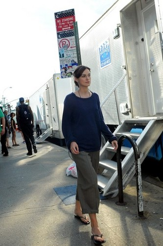 "Keira Knightley on the set of ""Can a Song Save Your Life?"" in NYC. 6 august 2012 - keira-knightley Photo"