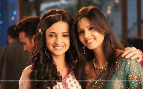 Iss Pyar Ko Kya Naam Doon wallpaper with a portrait entitled Khushi and anjali