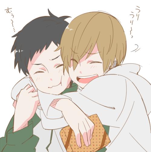 Durarara Masaomi And Mikado