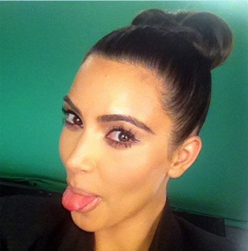 Kim Kardashian during a fotografia shoot (August 1)