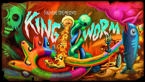 King Worm titolo Card :s