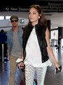 Kristin and Jay at Los Angeles Airport (July 4th, 2012) - kristin-kreuk photo