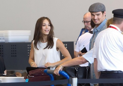 Kristin and नीलकंठ, जय, जे at Los Angeles Airport (July 4th, 2012)