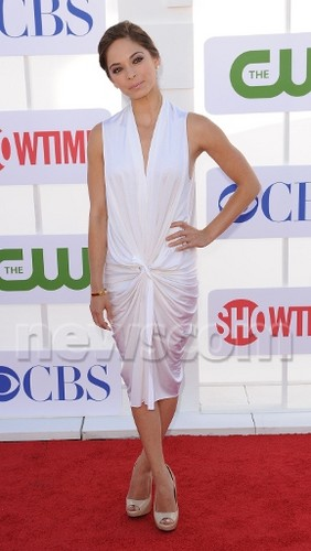 Kristin Kreuk wallpaper called Kristin at Television Critics Association - Red Carpet (July 30th, 2012)