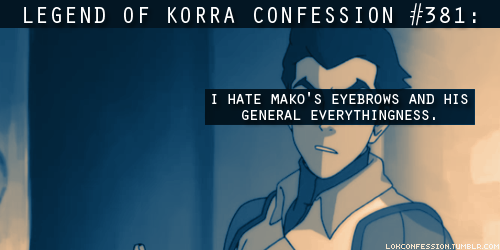 Avatar: The Legend of Korra wallpaper containing anime called LOK Confessions