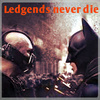 The Dark Knight Rises photo with anime titled Ledgends never die