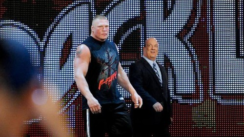 Lesnar and Heyman
