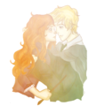 Like the sun- Scorpius & Rose - rose-and-scorpius fan art