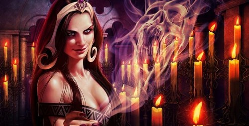 Magic the Gathering wallpaper titled Liliana Vess (planeswalker)