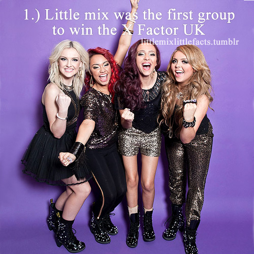 লিট্টল মিক্স দেওয়ালপত্র possibly with bare legs, hosiery, and a hip boot called Little Mix Facts♥