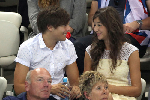 Louanor at the Olympics Aug 11 2012