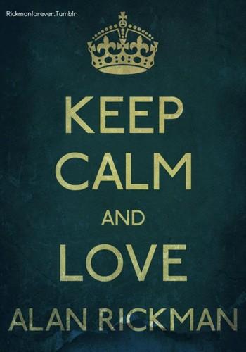Love Alan Rickman