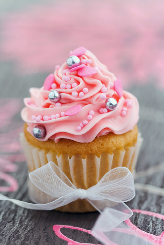 Cupcakes wallpaper with a cupcake called Lovely Cupcake