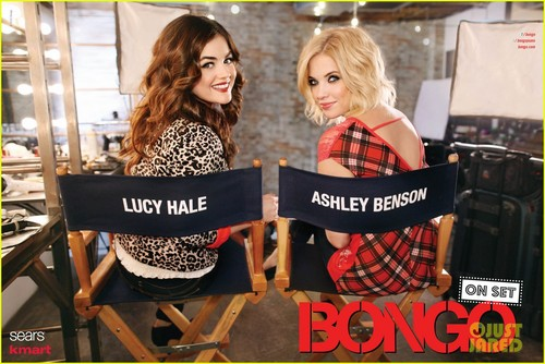 Lucy in new campaign photos for Bongo's Fall 2012 line