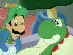 """Luigi """"Nurses"""" Yoshi....?"""