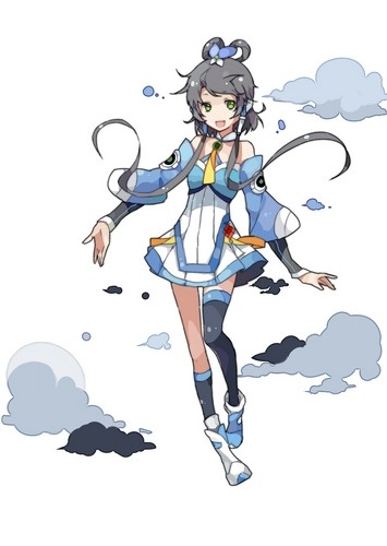 Vocaloids wallpaper titled Luo Tianyi