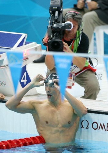 M. Phelps (London Olympics 2012)