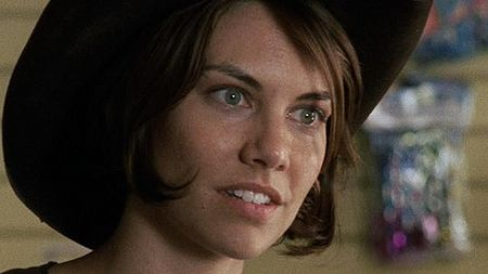 The Walking Dead: Maggie Greene 壁纸 containing a fedora, a boater, and a porkpie titled MG
