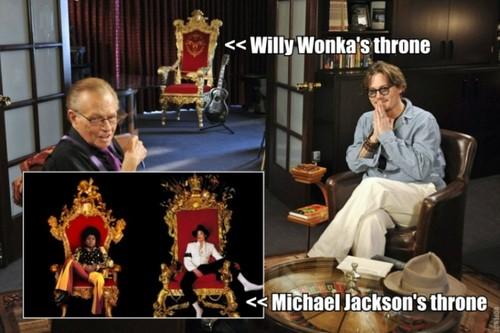 MICHAEL JACKSON AND JOHNNY DEPP