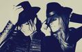 MJLMP fedora hat - michael-jackson-and-lisa-marie fan art