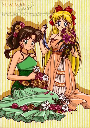 Makoto and Minako
