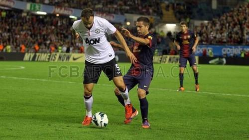 Manchester United - FC Barcelona (0-2)