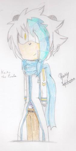 Mars the Panda as Kaito (RQ)