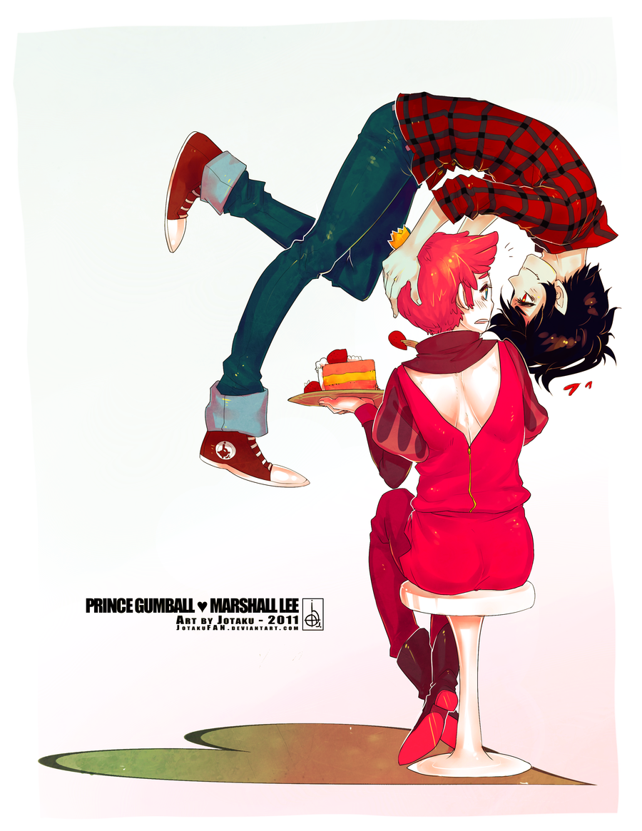 Marshall Lee and Prince Gumball Marshall Lee and Gumball