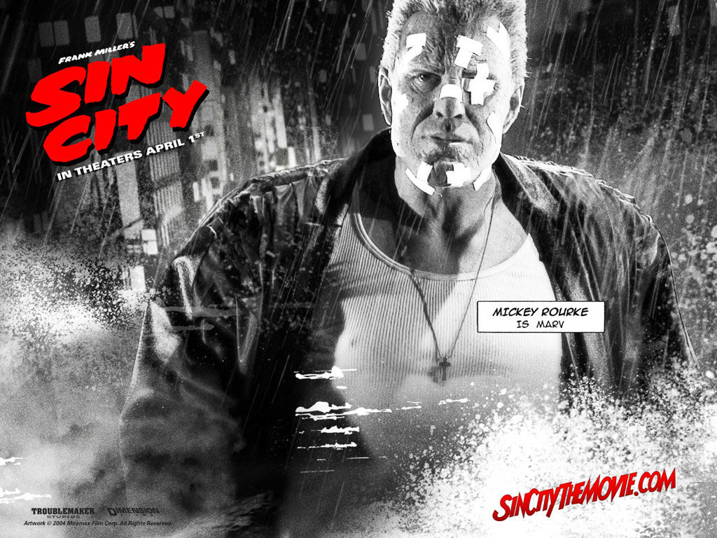 Marv - Sin City Wallpaper (31790480) - Fanpop fanclubs