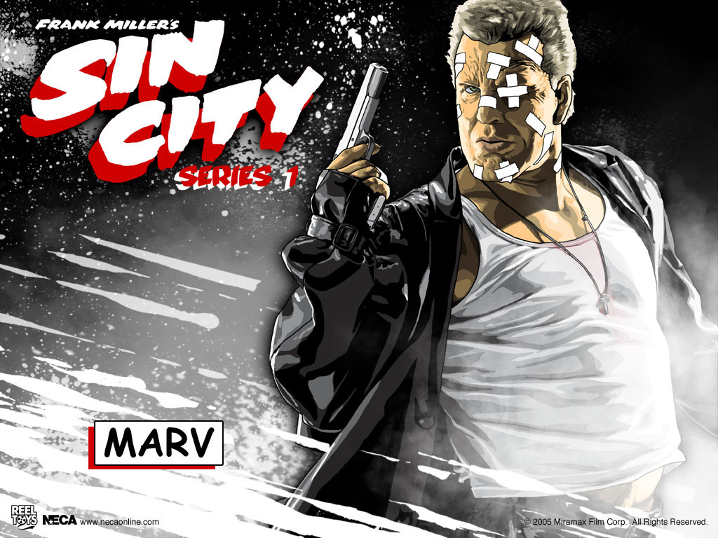 Marv - Sin City Wallpaper (31790631) - Fanpop fanclubs
