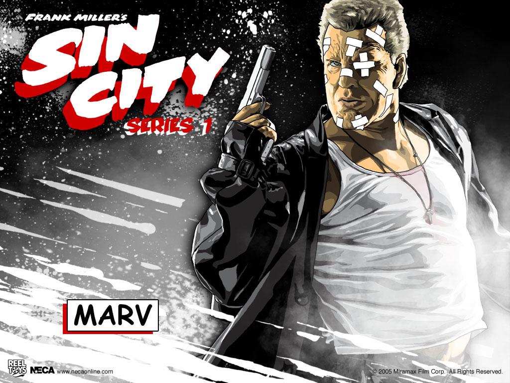 Marv - Sin City Wallpaper (31790631) - Fanpop fanclubs