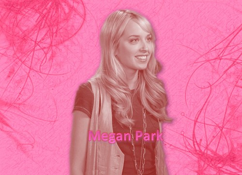 The Secret Life of the American Teenager wallpaper with a portrait titled Megan Park Wallpaper